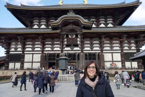 Il Todai che custodisce il Grande Buddah di Nara - Nara -Giappone