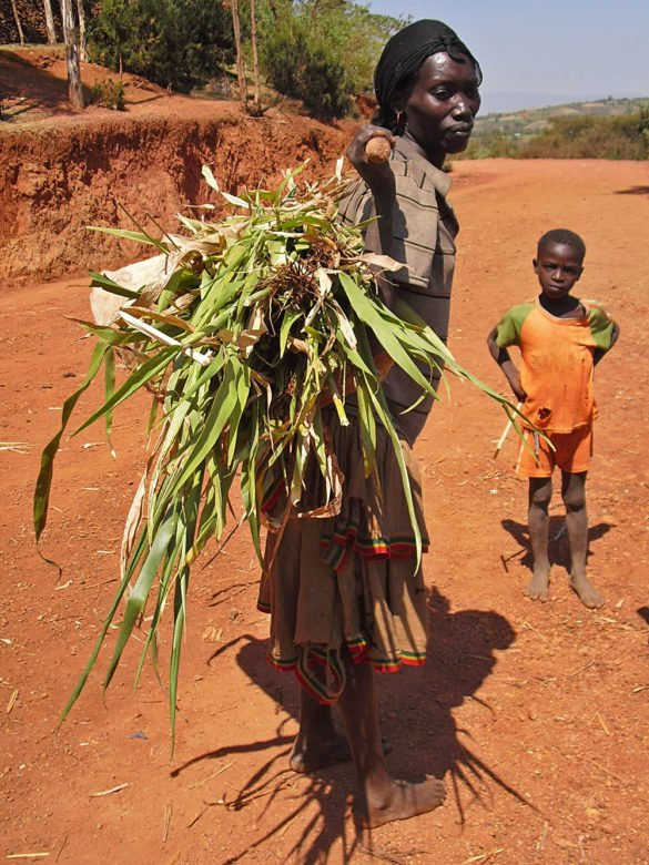 Macheke-donna-Omo Valley-Etiopia-Africa