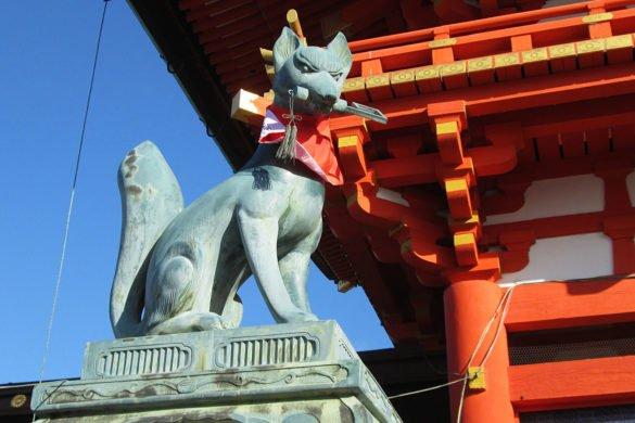 Fushimi-Inari Taisha-galleria-torii-Kyoto-Giappone-Japan-volpe-viaggio a kyoto
