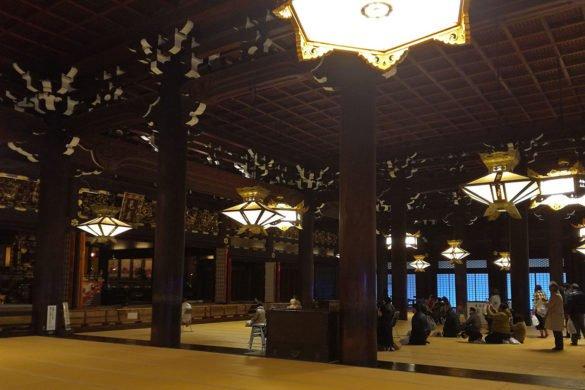 Higashi-Hongan-ji-interno-Kyoto-Giappone-Japan-Asia-viaggio a kyoto