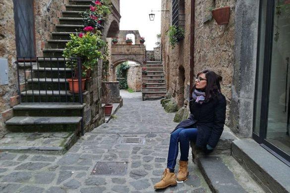 Civita-di-Bagnoregio-città-che-muore-vicolo-Tuscia-Lazio-Italia-Italy-weekend nel Lazio