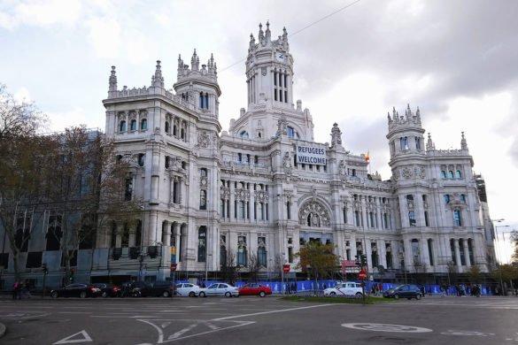 Palazzo Cibeles Madrid Plaza Cibles