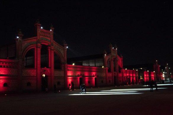 Il Matadero-centro culturale-cortile esterno-Madrid-Spagna-Spain-Europa