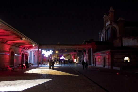 Il Matadero-viale-centro culturale-Madrid-Soagna-Spain-Europa