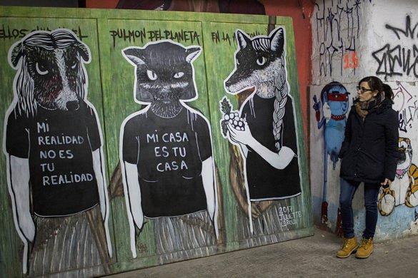 La Tabacalera-Centro culturale-Spagna-Spian-Europa-disegni tolleranza