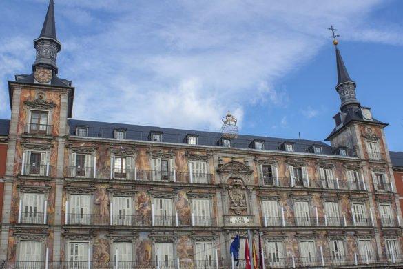 Palaza Mayor-Madrid-Spagna-Spain-palazzo-Panaderia
