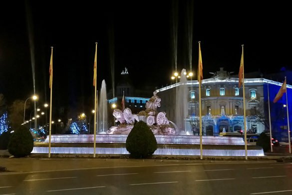 cibeles-fontana cibles-paseo del Prado-Madrid-Spagna-Spain