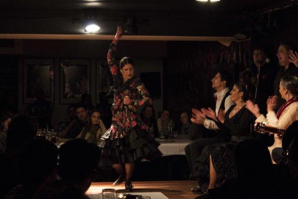 flamenco-tablao flamenco-Madrid-Spagna-Spain-ballerina