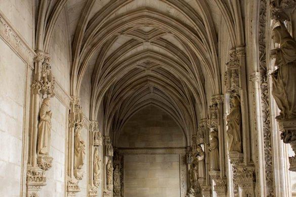 San Juan de los reyes-chiostro Toledo-Toledo-Spagna-Europa-Spain-galleria