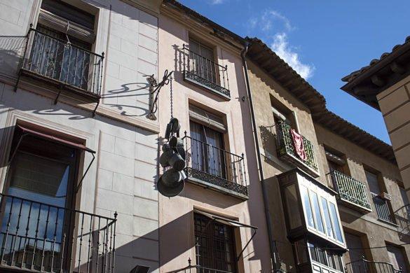 strada Toledo-Toledo-città delle tre culture-Spagna-Spain-Europa