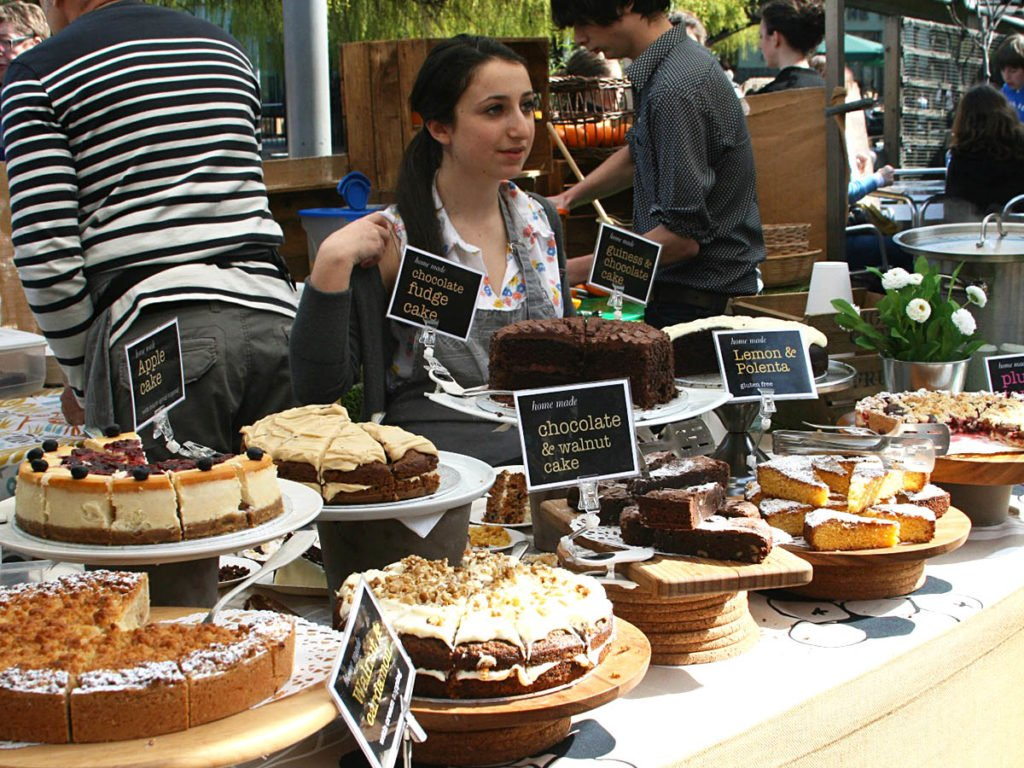 street Food - Birck Lane - Londra-London-Uk-Gran Bretagna-Inghilterra