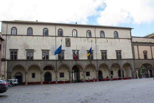 Palazzo dei priori-Viterbo- Tuscia Laziale-Lazio