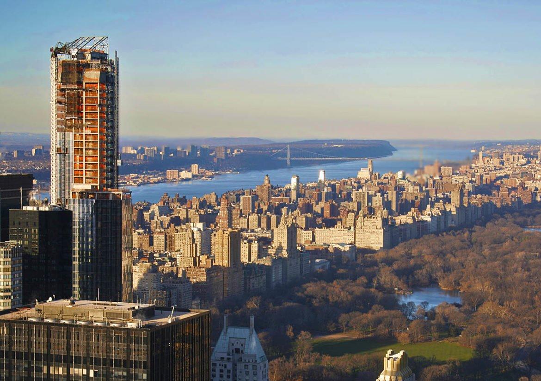 New York- grattacieli- New York dalla barca-grattacieli New York-Stati Uniti-New York-America-USA