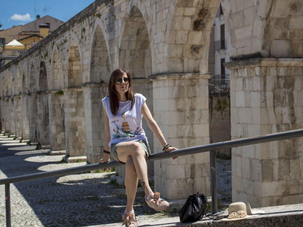 Acquedotto medievale-sulmona--Sulmona-Abruzzo-Italia-Italy-Europa