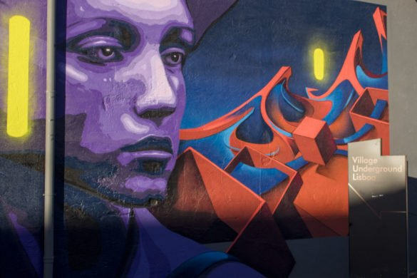 Murales Village Underground-Village Underground-Lisbona-Lisboa-Portogallo-Portugal-Europa-Europe-street art lisbona