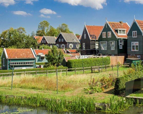 Marke-villaggio pescatori-villaggio pescatoriOlanda-Olanda-Holland