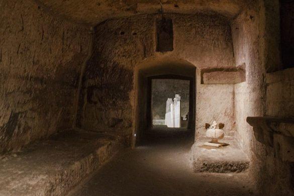 chiesa rupestre-Madonna delle Virtùe di San Nicola dei Greci-sasso barisano-matera-sassi di matera-Basilicata-italia