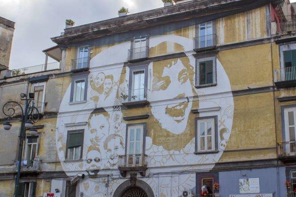 street art Napoli-street art rione sanità-rione sanità-Catacombe di Napoli-Napoli-Campania-Italia