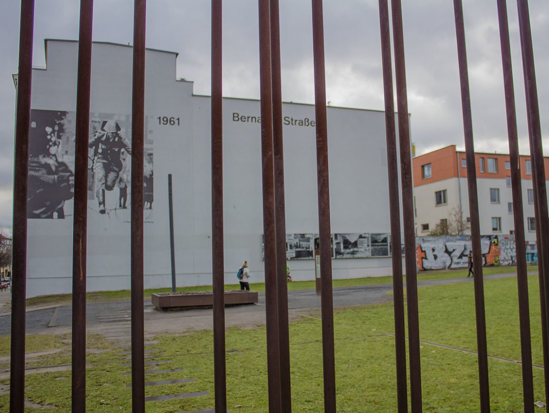 Bernauer strasse-memoriale del muro-Berlino-Germania-Berlin-Europa-Europe