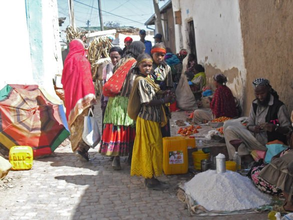 mercato-Harar-Harar-città-araba-Etiopia-Ethiopia-Africa