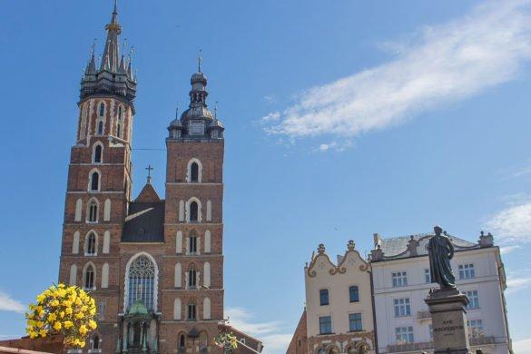 basilica santa maria-Rynek Główny-krakow-Cracovia-Polonia-Europa
