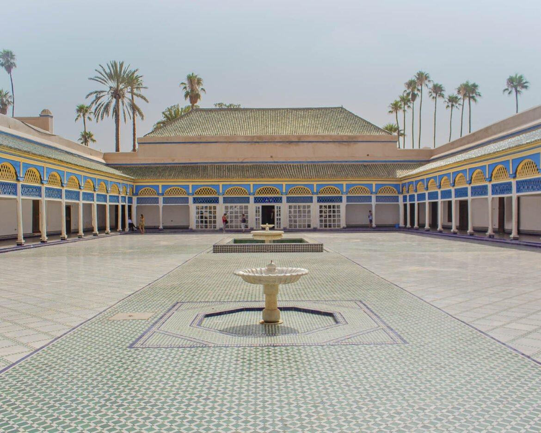 el bahia-el bahia palace-Marrakech-Marocco-Africa