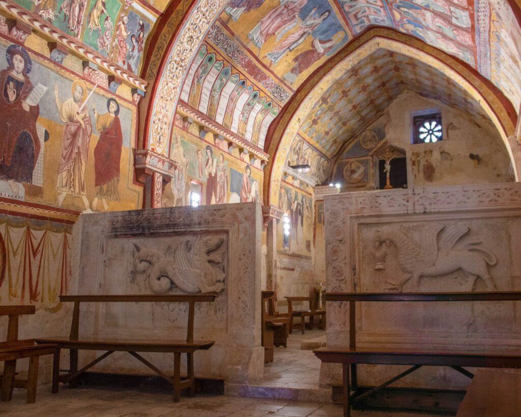 oratorio san pellegrino-bominaco-abruzzo