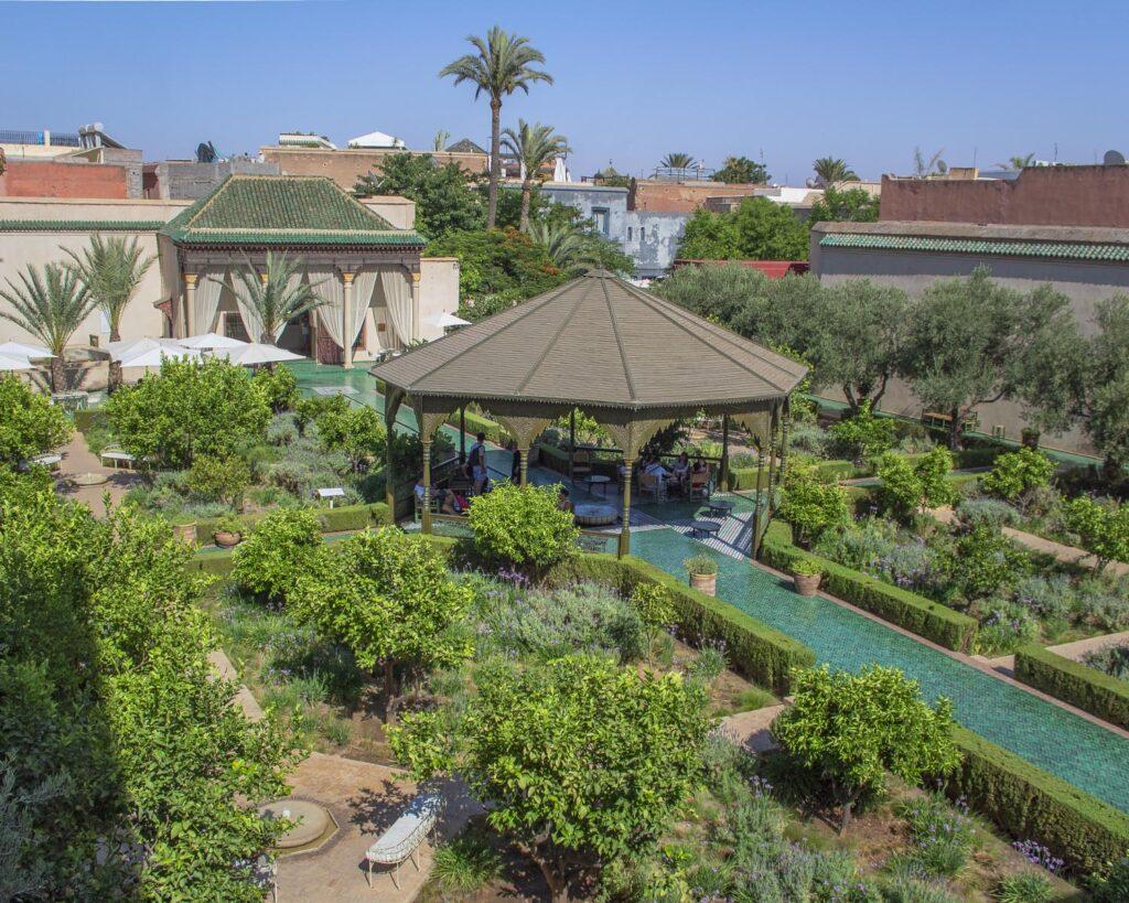 jardin secret-medina marrakech-marrakech-marocco-africa