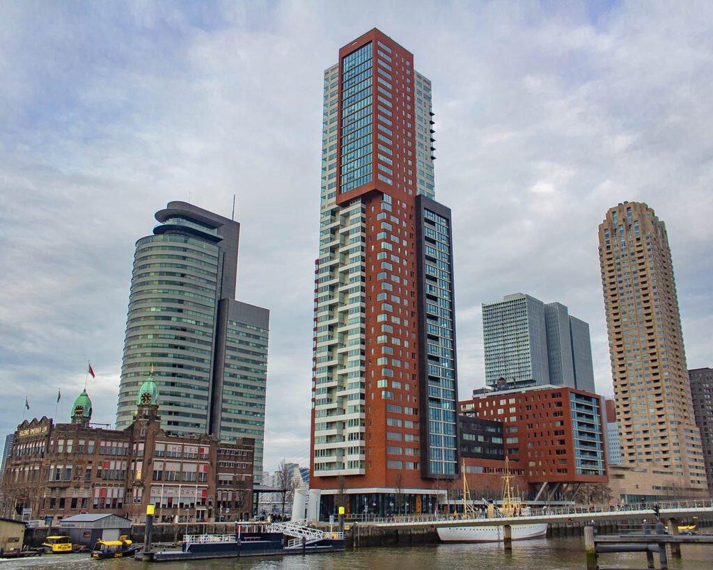 Kop Van Zuid-Rotterdam-Olanda-Paesi Bassi-Holland