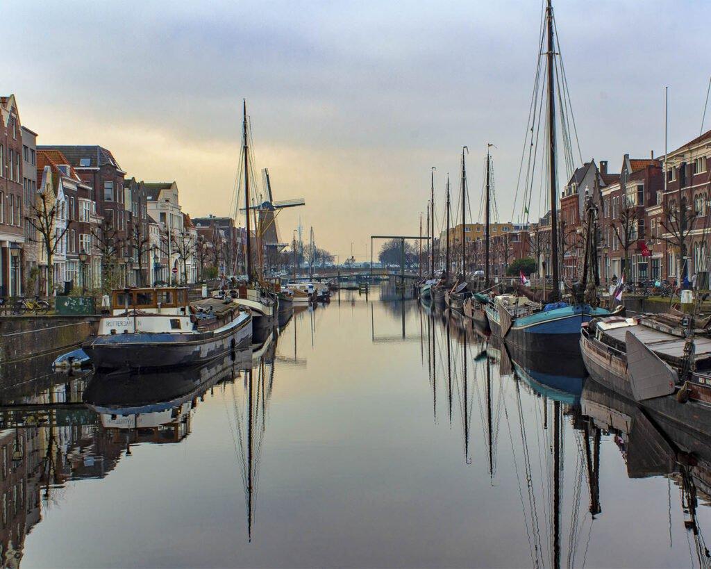 delfshaven- parte storica rotterdam-Rotterdam-Olanda-Paesi Bassi-Holland