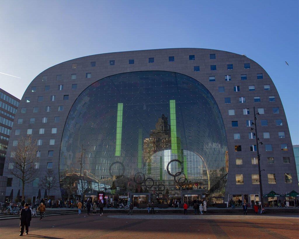 markthal-mercato centrale rotterdam-Rotterdam-Olanda-Paesi Bassi-Holland