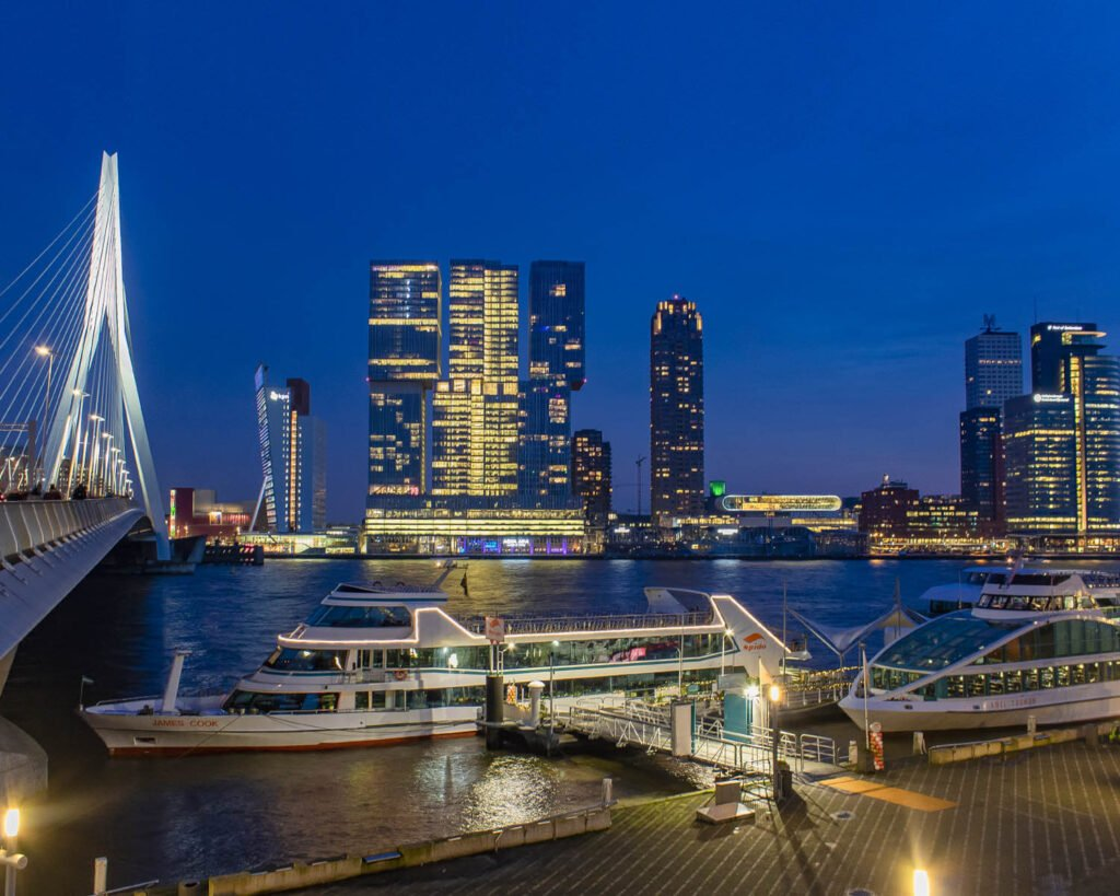 ponte erasmus-Rotterdam-Olanda-Paesi Bassi-Holland