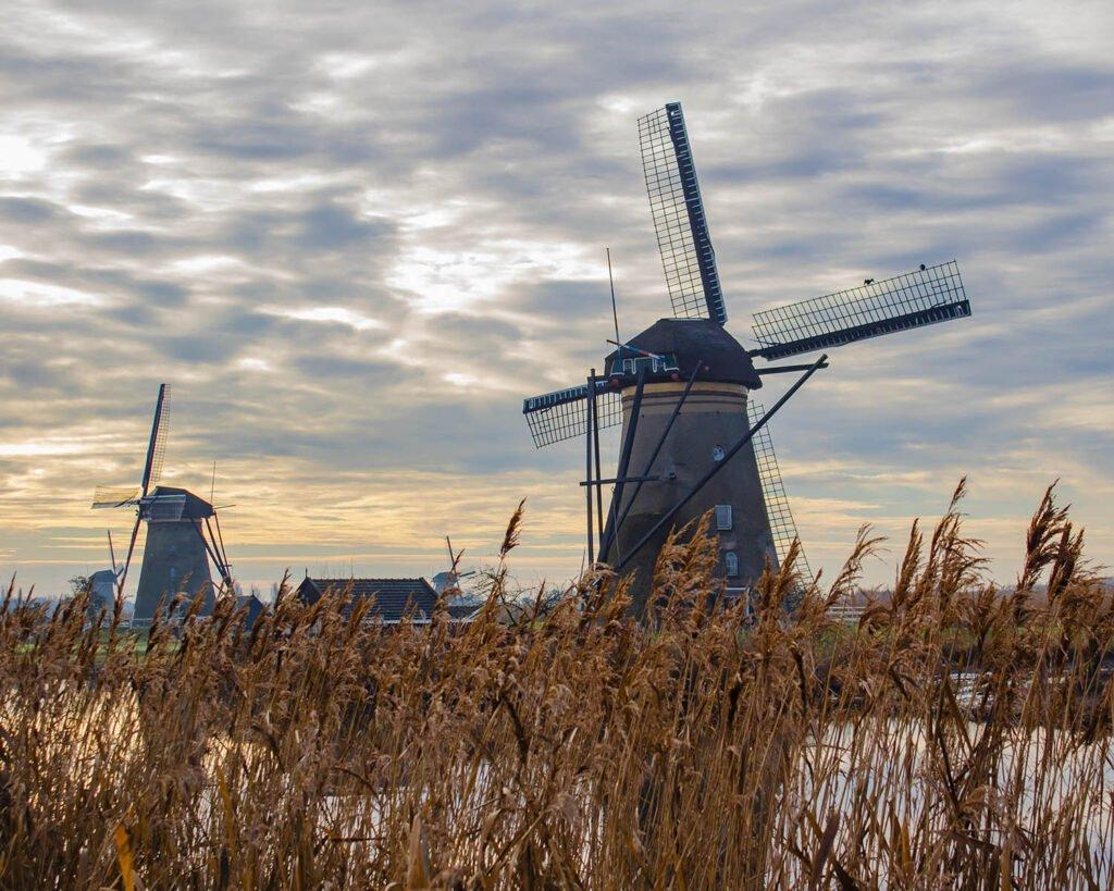 mulini di Kinderdijk-Olanda-Holland-Paesi Bassi-