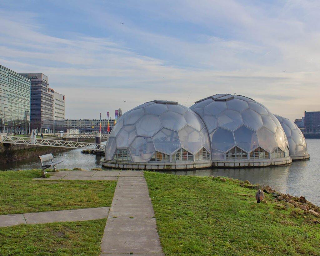 padiglione galleggiante-rotterdam-olanda-Holland-Paesi Bassi