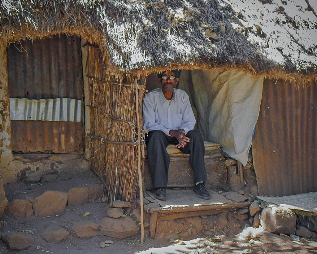 capanne awra amba-Awra Amba-Ethiopia-Etiopia-Africa