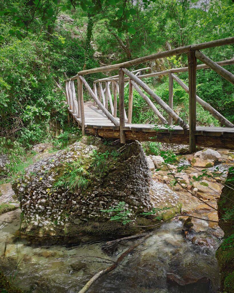 percorso natura-Orfento-Caramanico-Abruzzo