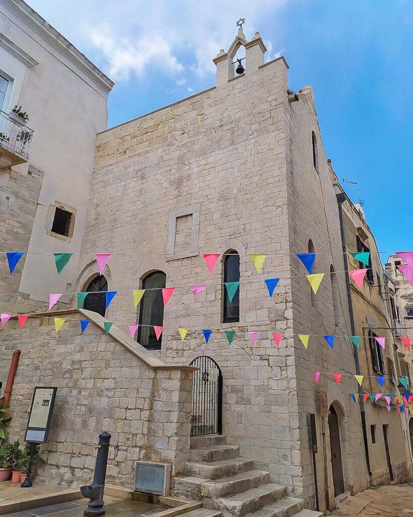 sinagoga TRani-quartiere ebraico-Trani-Puglia