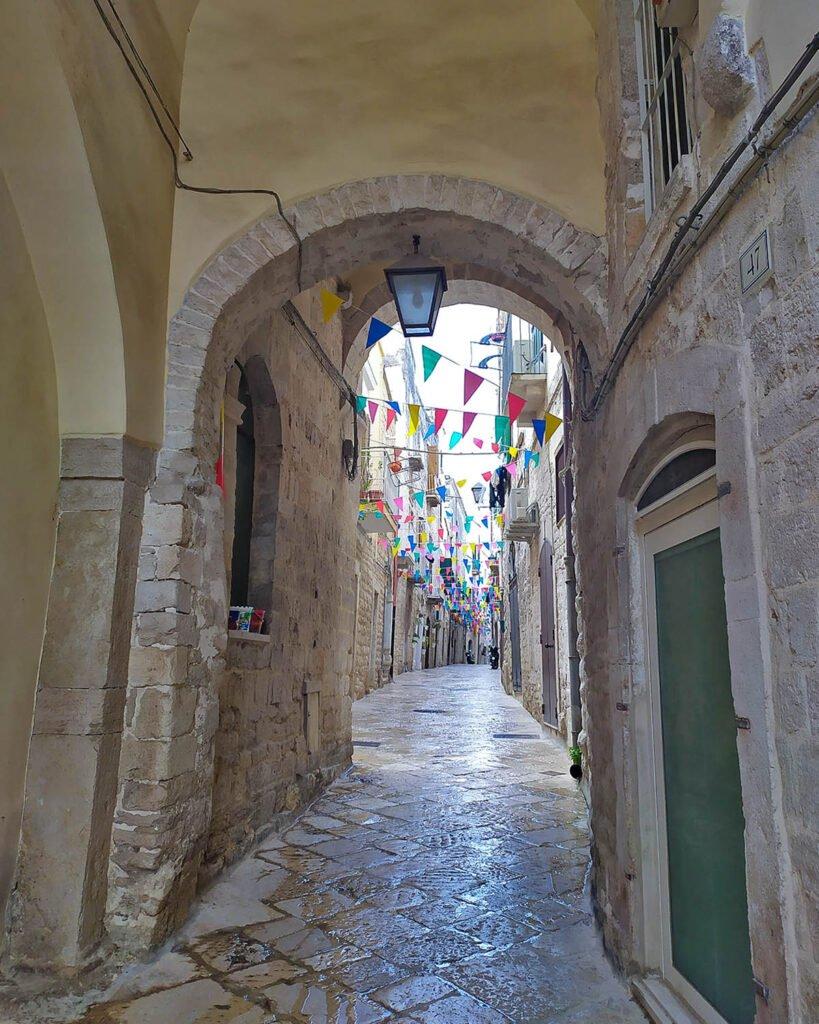 vicoli Trani-centro storico trani-Trani-Puglia