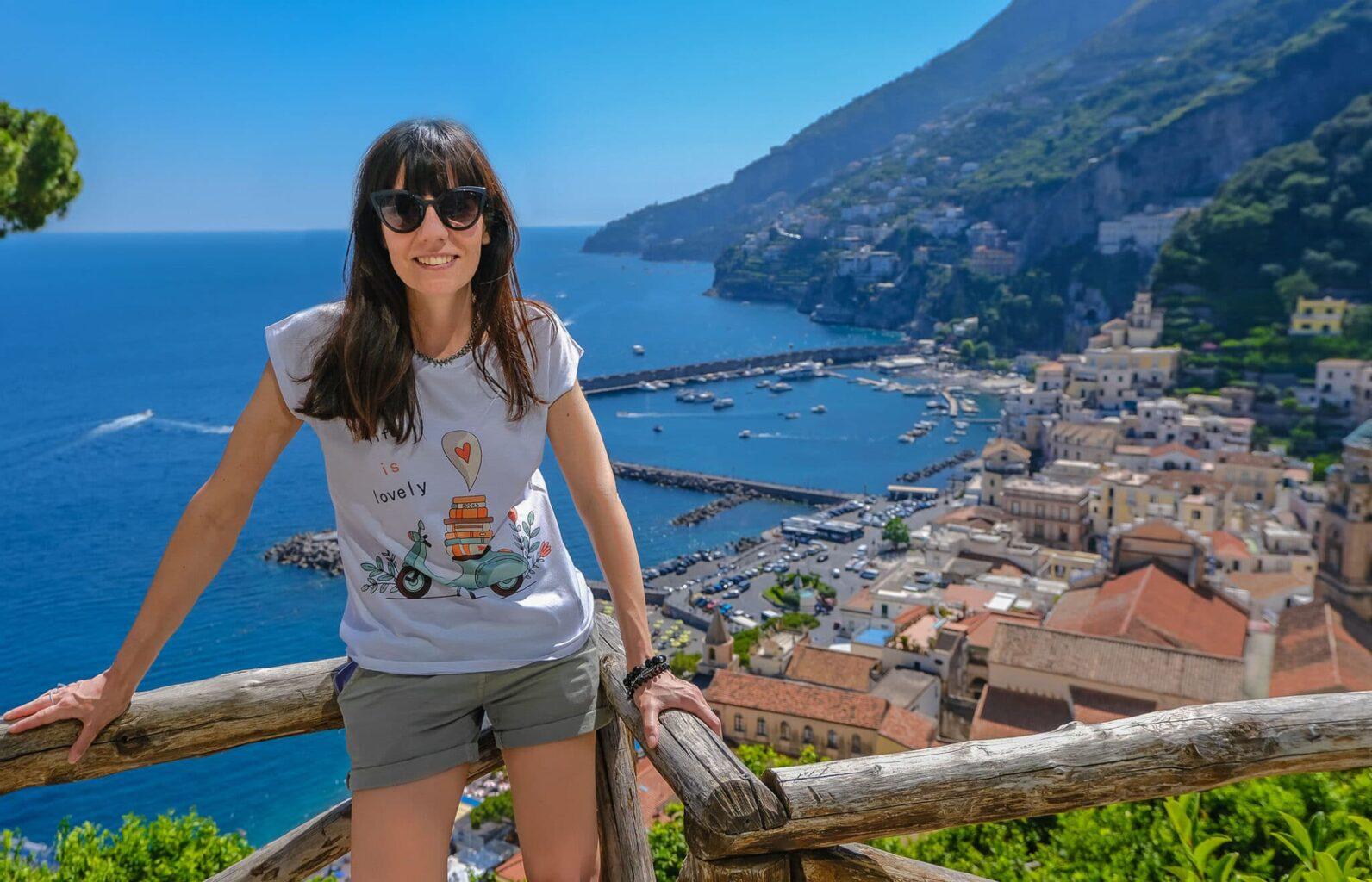 Cartina Costiera Amalfitana E Capri.Costiera Amalfitana Itinerario Di 4 Giorni E Allora Parto