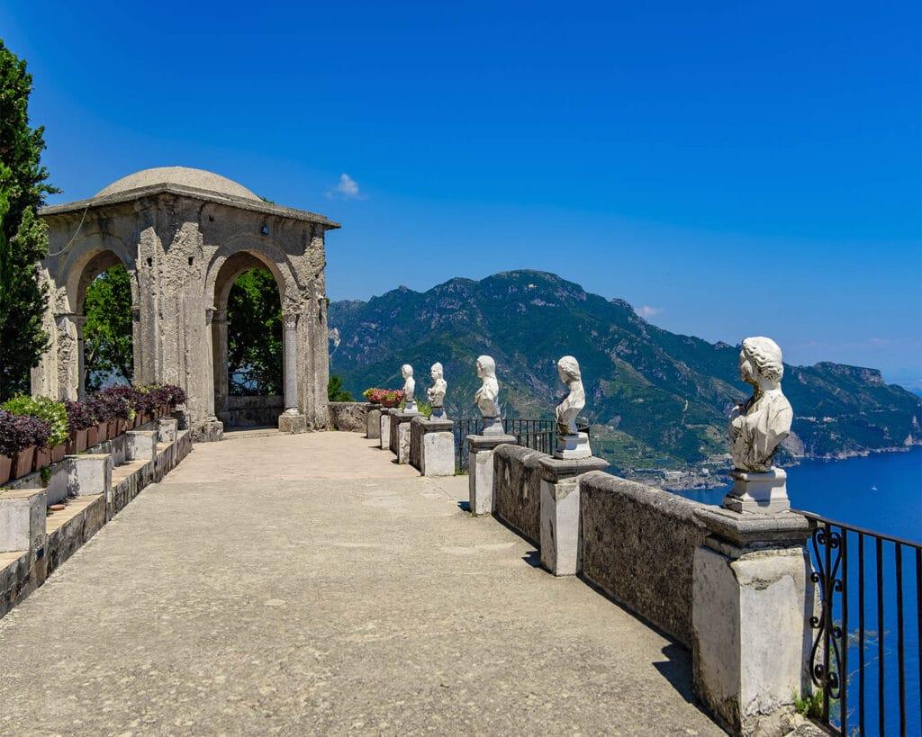 villa cimbrone-balcone panoramico-Ravello-Costiera Amlfitana-Campania