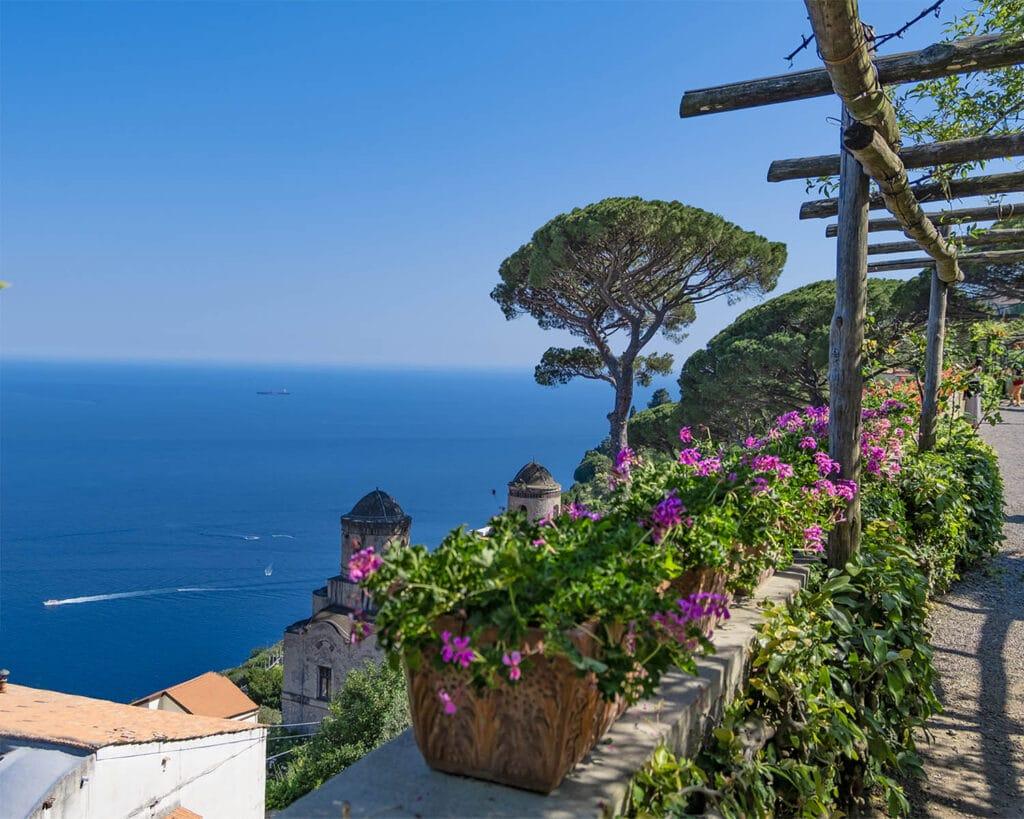 villa rufolo-terrazza panoramica-Ravello-Costiera Amlfitana-Campania