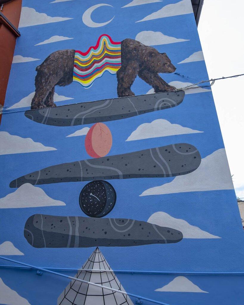 Holaf e C.A.Giadina-street art-abruzzo-aielli-borgo universo