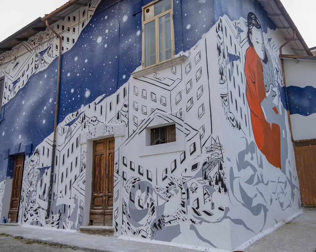 millo-millo ad aielli-street art-abruzzo-aielli-borgo universo