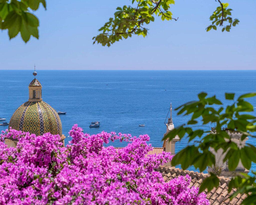 cupola positano- positano-costiera amalfitana