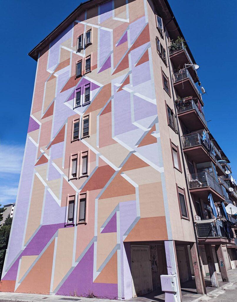draw the line-arte urbana-campobasso-molise-italia