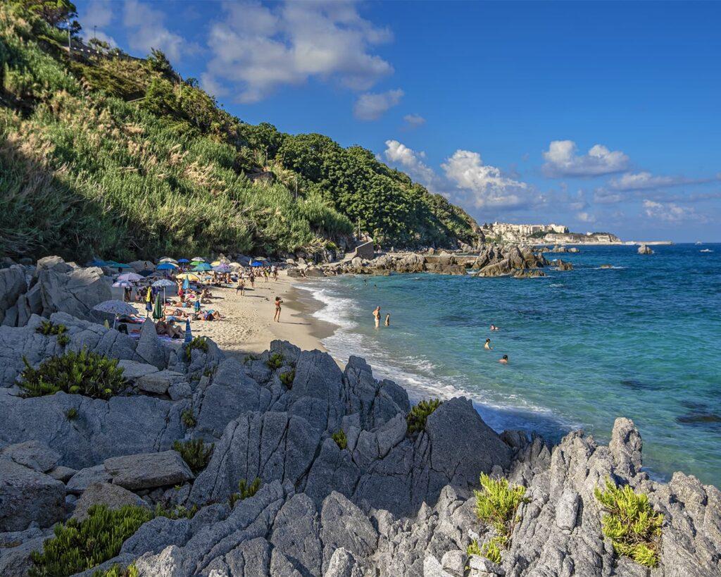spiaggia michelino-tropea-costa degli dei- costa tirrenica